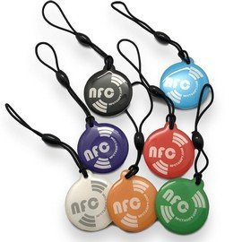 7 X NFC Hang Round Tags NTAG213 (1)