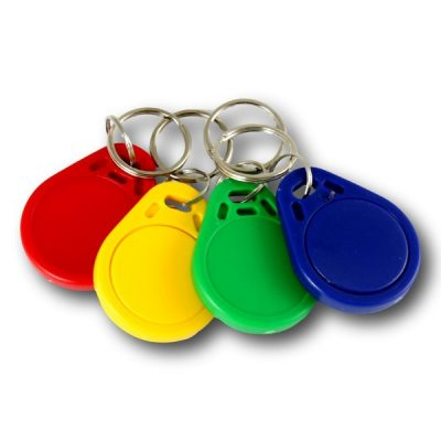 Coloured NFC Key-Fob NTAG216 Chip Key Chain Ring