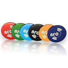 6 X Magnetic NFC Tags NTAG213 Coloured