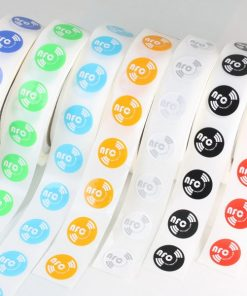 Mixed-Colours Round Printed NFC Sticker NTAG213 ntag216 Chip Ø 21 mm