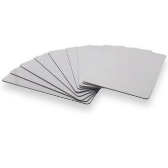 A set of 10 X NFC PVC Business Cards NTAG215